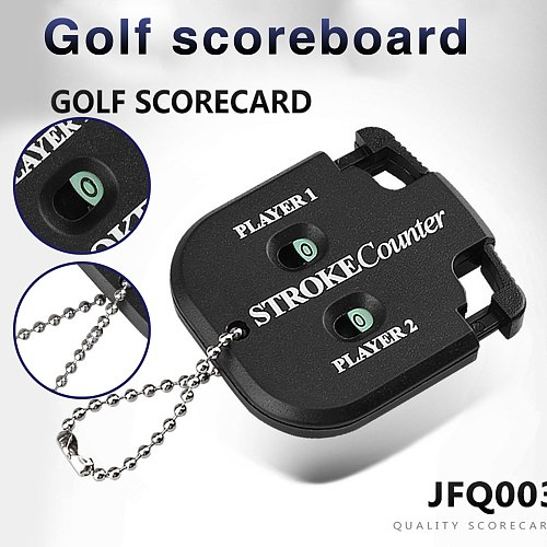Adult Golf Products Clocks Accessories Golf Double Scorer Counter Home Specialty High Quality New Game Timing Products Clocks