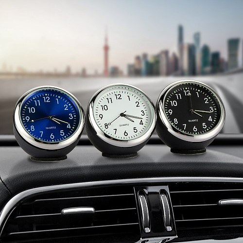 Car Clock Ornament Auto Watch Decoration Automobiles Interior Dashboard Time Display Digital Pointer Clock In Car Accessories
