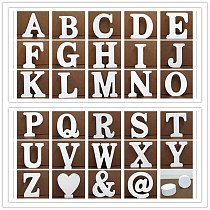 1 Pcs DIY Decorating Wooden Letters First Name Letter Decorative Letters And Numbers