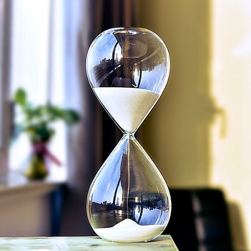 Hourglass Sand Timer Improve Productivity Achieve Goals Stay Focused Be More Efficient Time Management Tool 5/30 Minutes NW