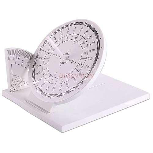 Sun clock light shadow sundial model sundial ancient sunrise as a timer teaching instrument teaching aids