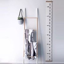 Hanging Kids Growth Chart Baby Child Kids Height Ruler Height Measure Ruler for Kids Room Home Decoration Art Ornament