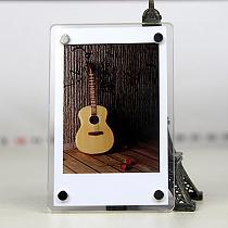 1Pc Refrigerator Magnet Stickers Creative Polaroid Mobile Phone Printer Photo Acrylic Frame Home Decroation Fridge Stickers