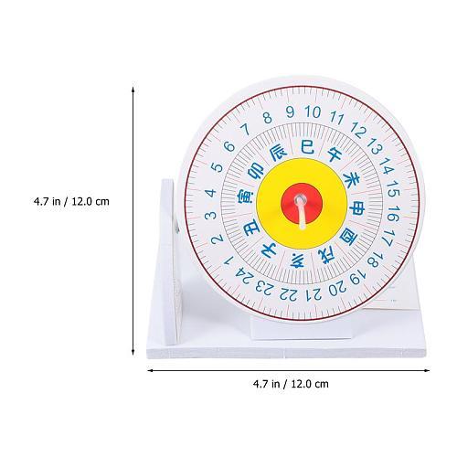1 Set of Sundial Clock Solarium Model Scientific Sundial Model Home Decor