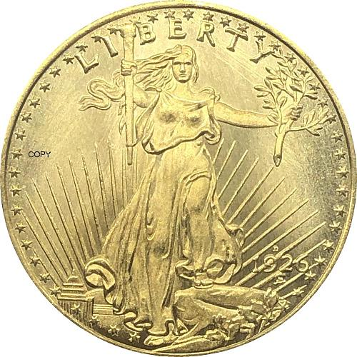 United States Liberty 1926 1926 D 1926 S Twenty 20 Dollars Saint Gaudens Double Eagle With Motto In God We Trust Gold Copy Coin