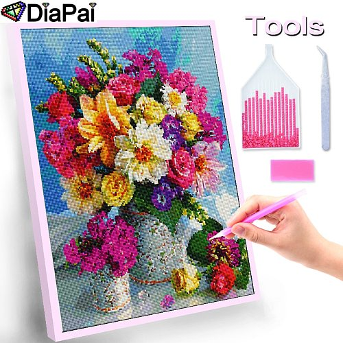 DIAPAI 100% Full Square/Round Drill 5D DIY Diamond Painting  Angel child  3D Embroidery Cross Stitch Home Decor