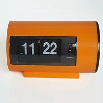 Retro Table Clock Auto Flip Clock 12 Hours AM/ PM Format Display Timepiece Desk Clock Flip Page Turning  Clocks