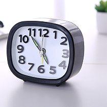 Tops Rectangle Small Bed Compact Alarm Clock Travel Quartz Digital Portable Table Electronic Desktop Clocks часы настольные