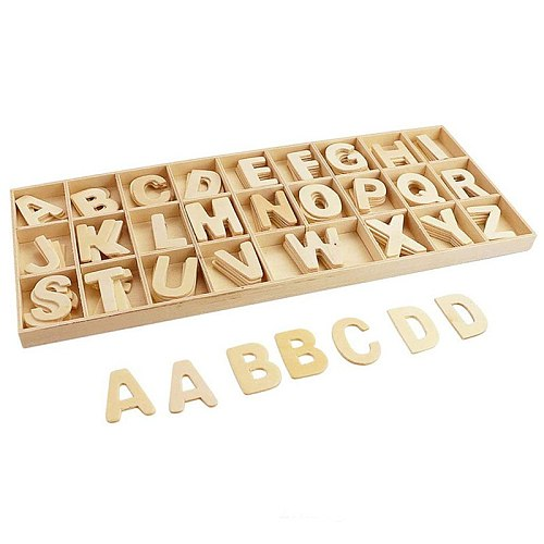 Wooden Letters Natural Alphabet Letters And Numbers Personalised DIY Craft Home Decor Wedding Birthday Xmas Party Name Design