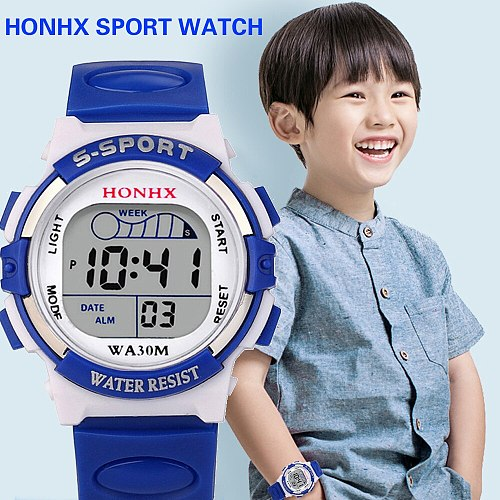 2019 Kids Girl Digital Watch Kids Sport Girls Analog Digital Led Electronic Watch New Waterproof Clock Mechanism Мужские 30*