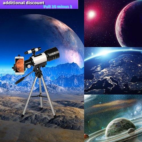 2021 decoration vintage Wide-Angle Astronomical Telescope 150X Beginner Monocular Lunar Observation Telescope декор дома