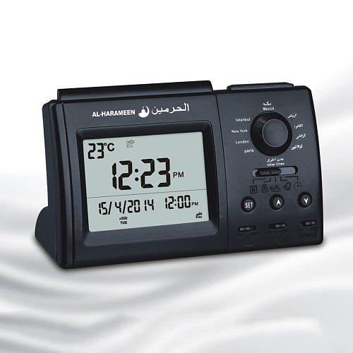 Ramada Automatic Digital Islamic Azan Muslim Prayer Alarm Adhan Table Clock Super Azan Desktop Clock Desk Alarm Clcok HA-3006