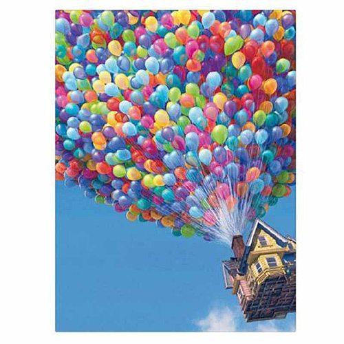 Home Decoration Art Diy 5d Diamond Painting Cartoon Movie Up Hot Air Balloon Cross Stitch Resin Diamond Embroidery Mural Decor