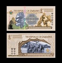 New type 1000 pcs Zimbabwe banknote for Collectibles