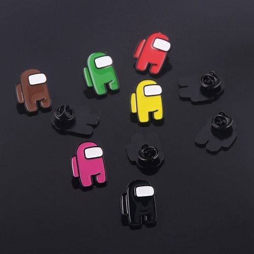 1PC Hot Game   Hard Enamel Pins Badge Brooch Backpack Bag Collar Lapel Decoration Jewelry Gifts for Friends