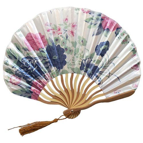 Chinese Classic Folding Fan Hand Held Fan Bamboo Paper Folding Fan Party Wedding Decor Vintage Bamboo Folding Hand Fans