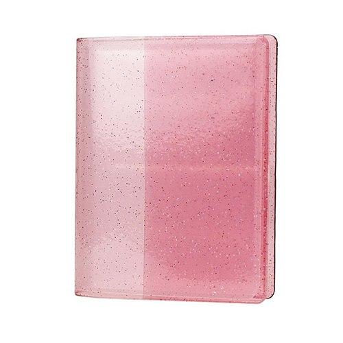 64 Pockets 3 Inch Quicksand Photo Album Mini Instant Picture Storage Organizer