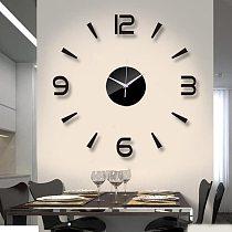 2021 New 3D Wall Clock Mirror Wall Stickers Fashion Living Room Quartz Watch DIY Home Decoration Clocks Sticker reloj de pared
