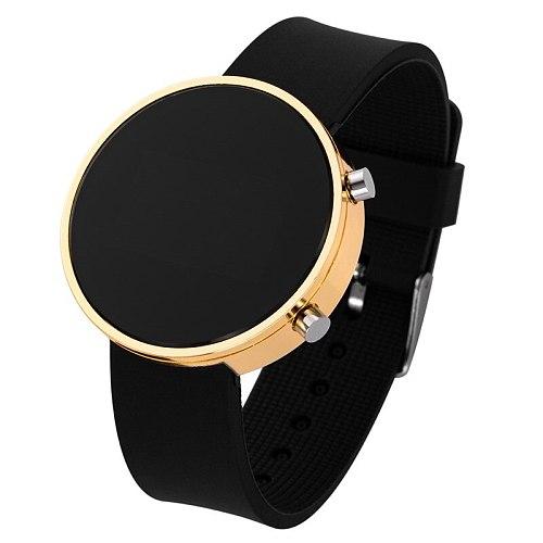 2021 Hot Sale Top Brand Luxury Ladies Digital Watches Women Men Led Sports Watches Round Analog Clock Wrist Watches