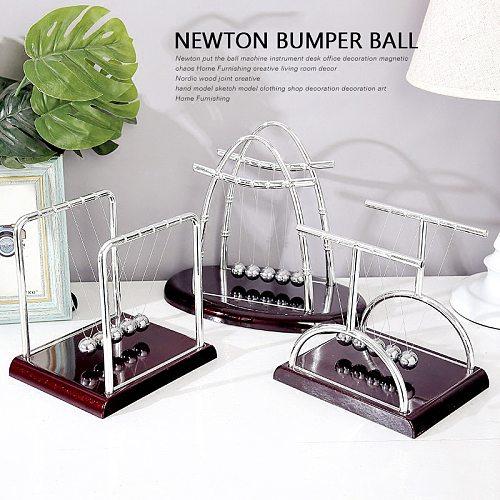 1pcs Newton Ball Physics Science Pendulum Steel Balance Ball Newton's Cradle Desk Table Decor Metal Pendulum Ball