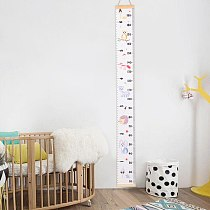 6 Colors New Wooden Kids Growth Height Chart Ruler Children Room Decor Wall Hanging Measure Home decoration Dropshipping