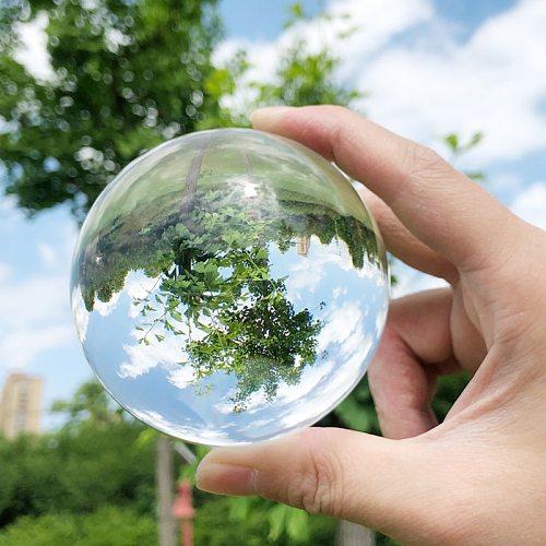 K9 Clear Lens Ball Crystal Glass Ball Lucky Rainbow Photography Ball Sphere Home Decorative Feng Shui Ball