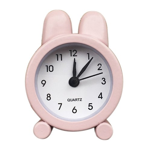 Top Selling Creative Cute Mini Metal Small Alarm Clock Electronic Small Alarm Clock Support Wholesale And Dropshipping