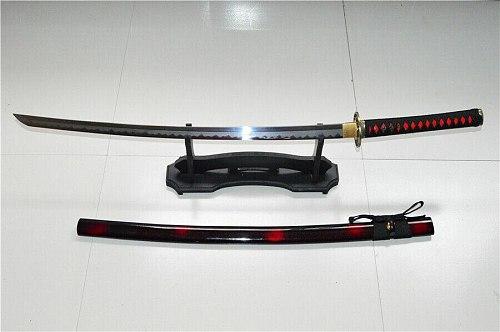 High Quality Japanese Sword Samurai Katana Sharp Clay Tempered T10 Steel Blade Full Tang