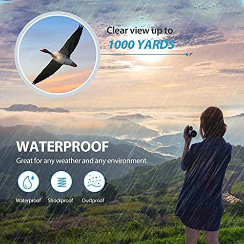 Outdoor Single Telescope Portable 16x52 Field Mini Telescope Bracket 2021 Garden Decoration Tools and Accessories Bird Watching