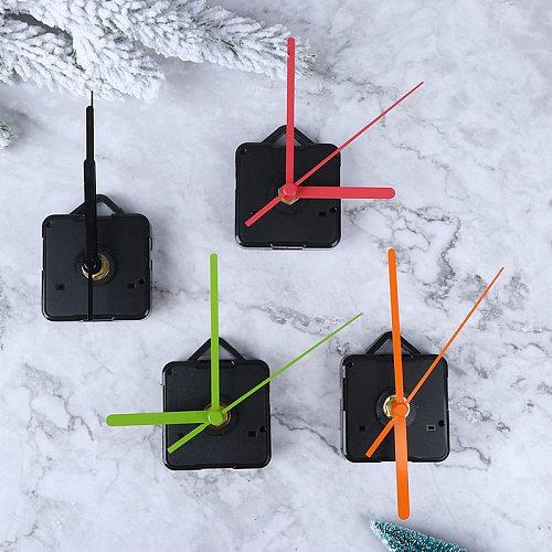 1Set Silent Clock Colorful Hands Quartz Wall Clock Mechanism Movement Repair Replacement Parts Clockwork Clock Parts