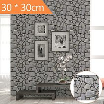Wall Stickers 3d Panel Self Adhesive Tile Brick Wall Sticker Self-Adhesive PVC DIY Wallpaper Decal Home Decoration Accessories