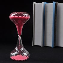 1PC Random Color 10 minutes Sandglass Time Counter Count Down Timer Hourglass Clock Colorful Beautiful Gift Home Decor JR 1108