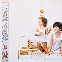 DIY Baby Child Kids Height Ruler Kids Growth Size Chart Height Chart Measure Ruler Wall Sticker For Kids Room Home Decoration
