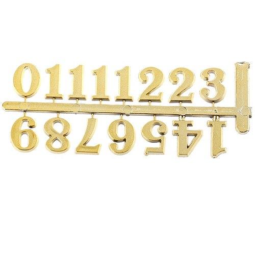 1PCS DIY Clock Digital Parts Numerals Restore Ancient Ways Digital Accessories Quartz Clock Movement For Clock Repair