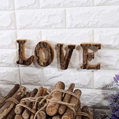 Wooden English Letters Alphabet Number For Cafeteria Bar Home Decoration Diy Art Decorative Wood Number Letter Home Decor