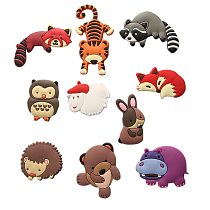 Home Decoration Magnetic Refrigerator Cartoon Zoo Animal Fridge Magnet Collection Child Educational Toys Gifts