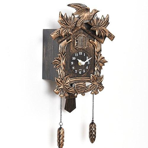 Cuckoo Clock Living Room Wall Bird Alarm Watch Modern Brief Children Decorations Home Day Time Alarm