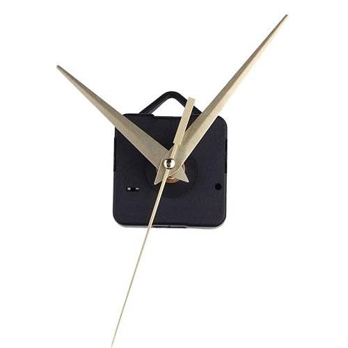 1pc Quartz Gold Metal Simple Clock Movement Mechanism Hands Diy Repair Replacement Home Decoration Office Specialty Tool #5