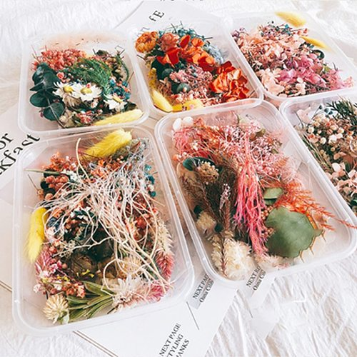 Practical Dried Flower Aromatherapy Candle Making Dried Flowers Candle Handmade Accessories DIY Material For Candle Soap Making