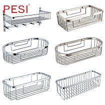 Shower Caddy Corner Shower Basket Stainless Steel Bathroom Shelves Shower Organizer Rustproof,Wall Mount,Polished or Mirror.