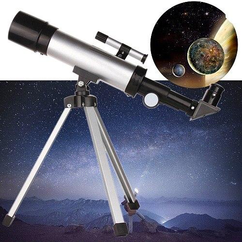 360x50mm Astronomical Telescope Tube Refractor Monocular Spotting Scope W/tripod Outdoor Decorative Telescopes