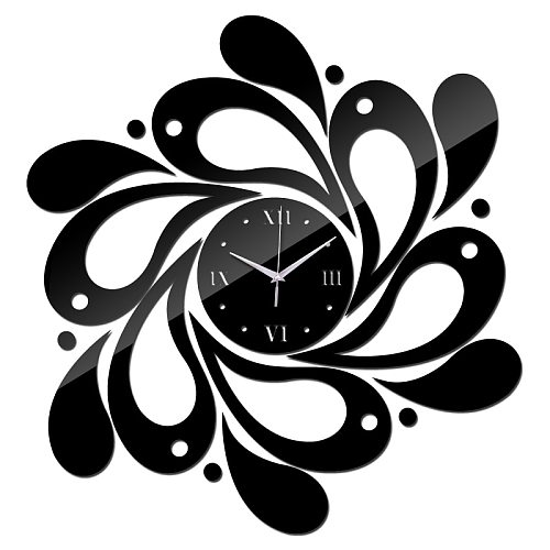 Wall Clocks DIY Acrylic Material Single Face Needle Quartz Watches Brief Style Home Decoration Home Stickers