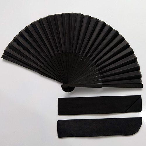 Hot Sale Chinese Style Black Vintage Hand Fan Folding Fans Dance Wedding Party Favor Decorations