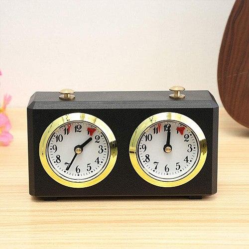International Checkers Analog Chess Clock - Mechanical Chess Clocks Garde - Chess Clock Count Up Down Game Accessory