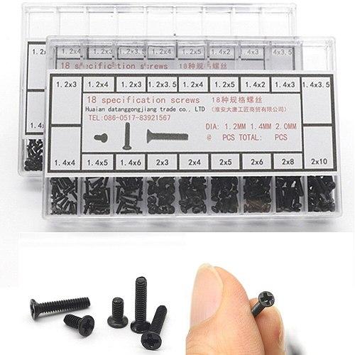 500pcs Assorted Screws Repair Kit Tool Watch Clock Eye Glasses Repair Accessories Screwdriver For Watchmaker Repair Parts Tool