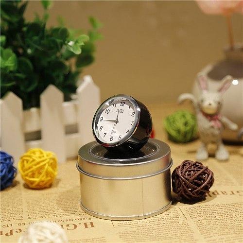 Mini Decorative Small Table Clock Smart Digital Standing Desktop Table Clock Desk Bedroom Reloj De Mesa Home Decoration AD50TC
