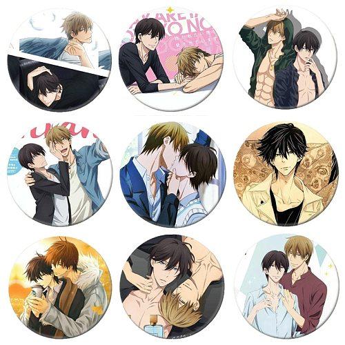 Free Shipping Anime Dakaretai Otoko 1-i ni Odosarete Imasu  Brooch Pin Cosplay Badges For Clothes Backpack Decoration B044