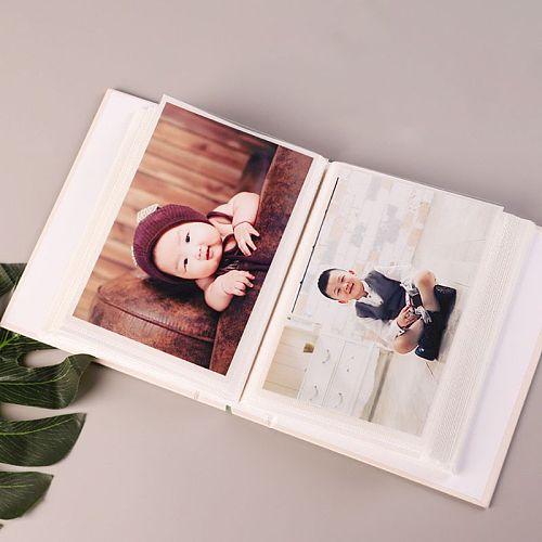 4D Large 6 Inch Photo Album 100 Sheets Scrapbook Paper Baby Family Scrapbooking Albums Wedding Foto DIY Craft