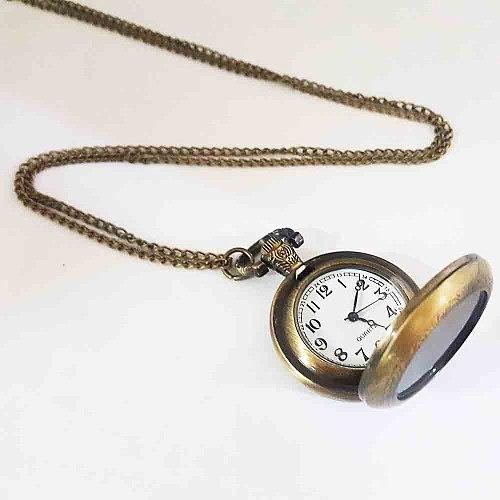 Astronomical Sundial Globe pocket watch Astronomy pocket watch Aqua Bronze Astrological Vintage Astronomy Science Jewelry