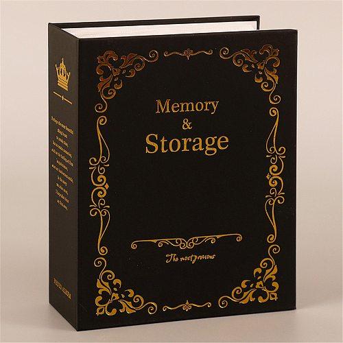 100 Pockets 6 Inch DIY Vintage Photo Albums Picture Case Storage Scrapbooking Picture Case Photo Album Frame For Kids Children